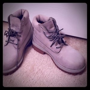 Timberland Leather Boots (Girl)